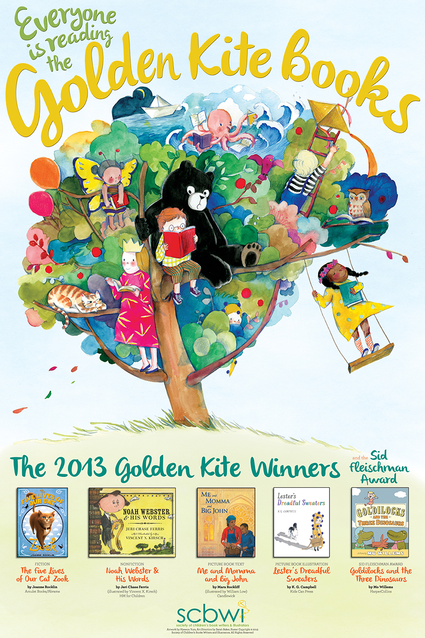 SCBWI_GK_Poster_2013#564A5D