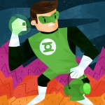 Green, Green Lantern, Lantern, superhero, Super, Hero, and Space