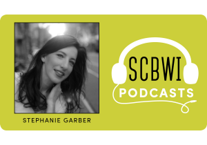 Stephanie Garber SCBWI Podcast logo