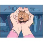 Hamster, girl, and Love
