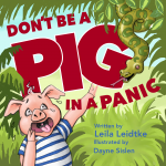 pigs in the jungle, Children' Book Illustration, and cover art
