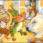 Hanukkah, tigers, crocodiles, and latkes