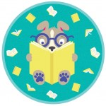 books, reading, Dog, and Curiosity