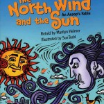 aesop's fable and The North Wind and the Sun