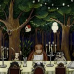 forest, Animals, and fine dining