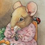 mice, Aesop's Fables, meals, bad manners, and ladybug