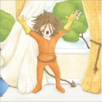 picture book, lion, dressing up, dress ups, and boy