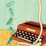 birds, Writing, office, and work