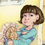picture book, child, girl, children, fair, rabbit, and Bunny