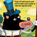 app, ebook, and three little pigs
