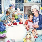 children, boys, reading, Grandma, Grandparents, brothers, boy, Worried Boy, Dog, Puppy, games, and Grandpa