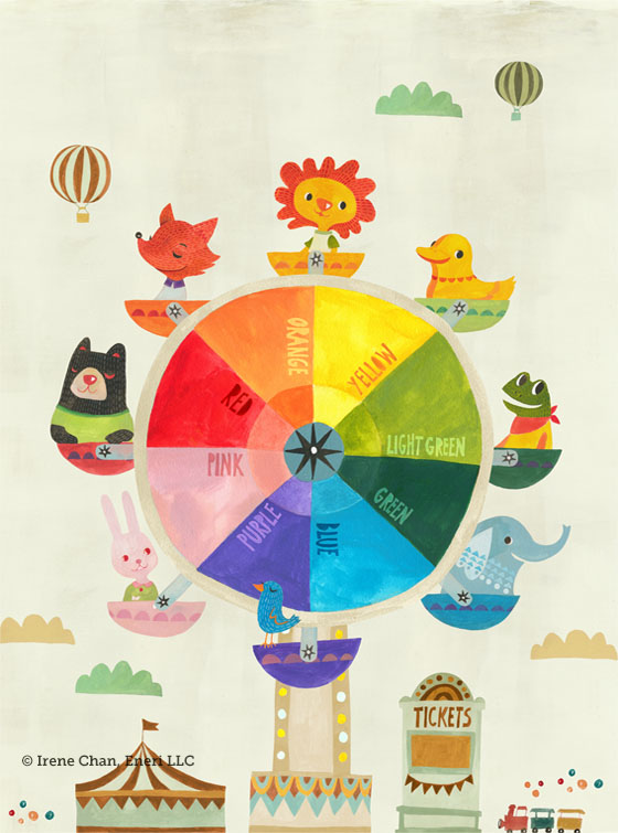 Add To Favorites Wheel Ferris Animal Carnival Lion Bear Duck Frog