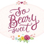 handlettering, girly, sweet, bear, Beary, flowers, flower, pink, heart, cute, rose, Lettering, Cursive, and quote