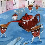 tea, teapot, teacup, Food, and Humor