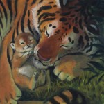 tigers, baby, Animals, and Nature