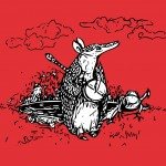 armadillo, frog, Fairy Tale, Music, and banjo