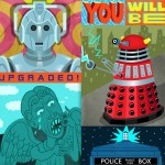 Sci-fi, digital, doctor who, and whimsical