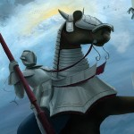 knight, horse, castle, kingdom, queen, Science Fiction, and Fantasy