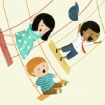 children, swinging, boys, and Girls