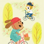 bicycling, Friends, Dog, and cat