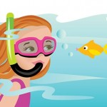 water, sport, girl, Scuba, fish, dive, ocean, and Vacation