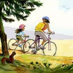 bicycle and Family