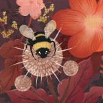california, bumble, bee, wildflowers, critters, picture book, and illustration