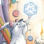 rats, Fantasy, whimsy, Magic, and d20