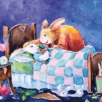 Bunny, rabbit, bedtime, and bedtime routine