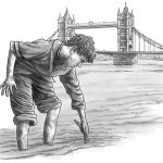 boy, historical, historical fiction, bridge, middle grade, chapter book, Victorian London, and London (England)