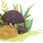 SCBWI Draw This!, and snail