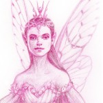 fairy queen, Character Sketch, fairy, Fantasy, and Drawing