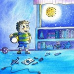 #Children's book, books for boys, moon, and first day of school
