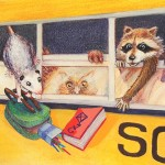 Animal, seasonal, back-to-school, bus ride, and Forest Animals