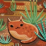 Cats, and desert