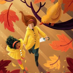 charlenechua-mother-child-autumn