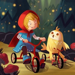 charlenechua-owl-tricycle