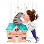 Dollhouse,   cute pets, Animals: cats, cute kids, and   love