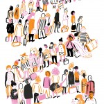 Editorial Illustration and Air Travel