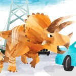 Dinosaurs, triceratops, and Action & Adventure