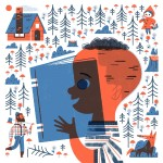 Fairy tales, children reading, Little Red Riding Hood, kids, and children