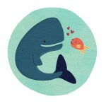 cute whale, fish, #Friendship, Friends, and whale