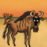 african animals, animal alphabet, and board book
