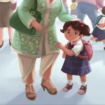 First Day of School, #Children's book, and Childen's book