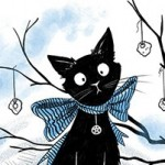 Animals: cats, witch, Skull, Magic, candles, Black Cat, middle grade fantasy, and middle grade