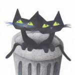alley cats, Cats, cats, #cat, Animals: cats, and Trash