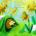 daffodils, Hedgehog,  spring, seasons, and butterfly