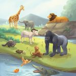 Bible stories, Animal, #Children's book, and bible