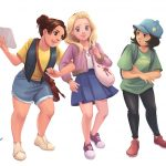 Girls, middle grade, and cute