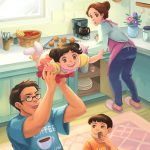 #Children's book, Family & Relationships, kitchen, and cute